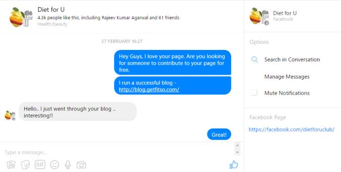 Facebook post hacks
