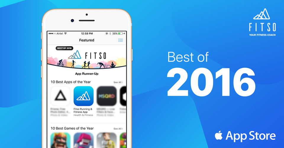 Growth hacks - Fitso best app of the appstore